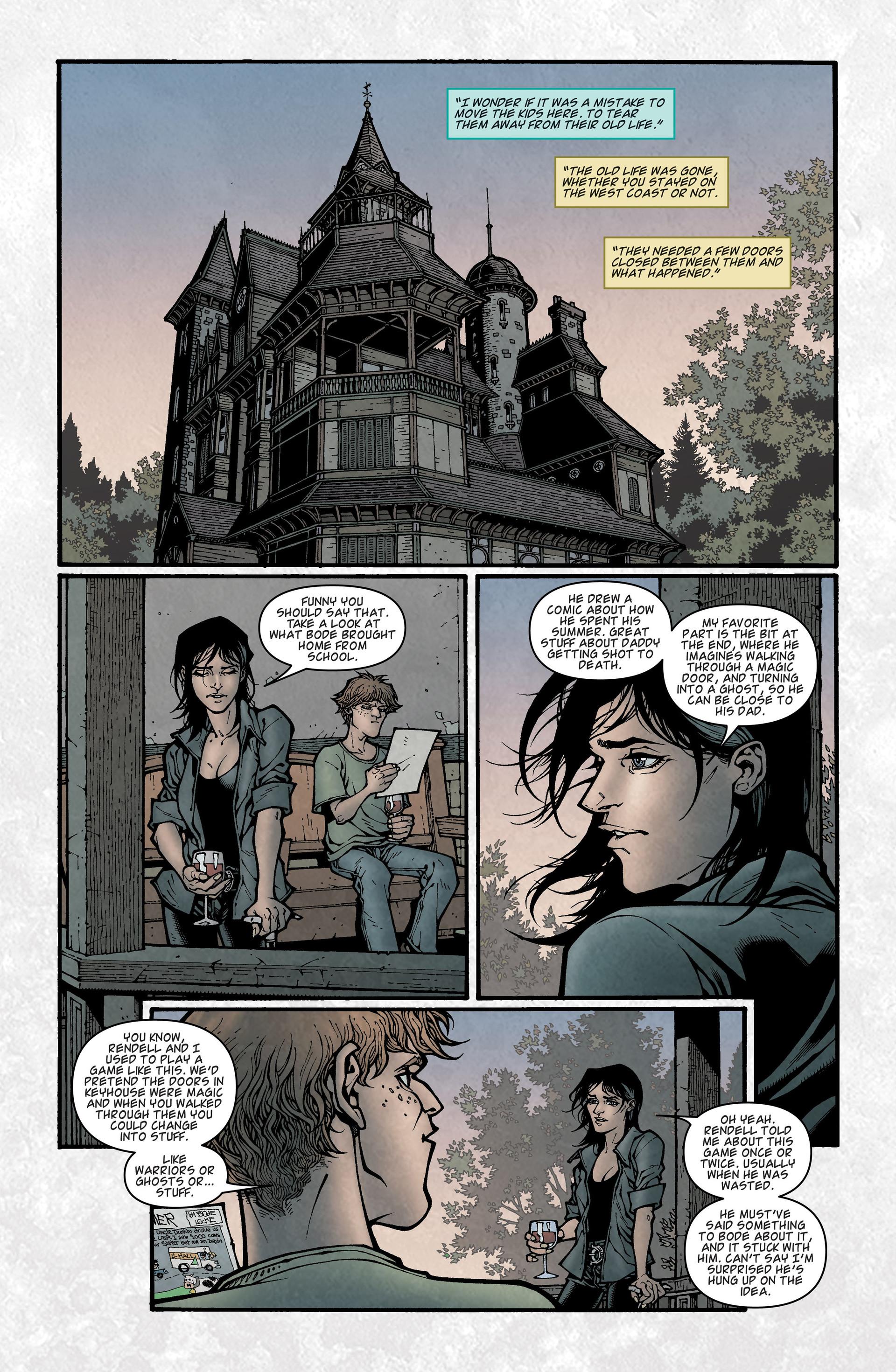 Locke & Key (2008) Issue #2 #2 - English 6