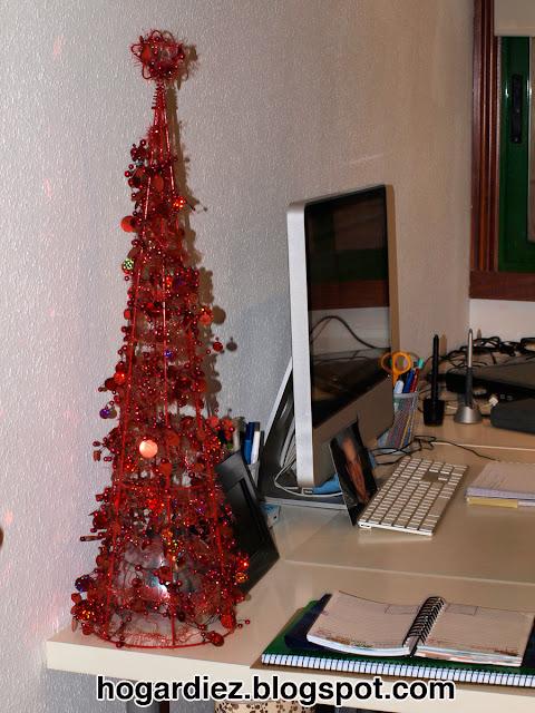 Árbol de Navidad despacho