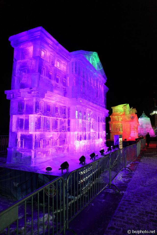 ледяные фигуры на поклонной горе 2016