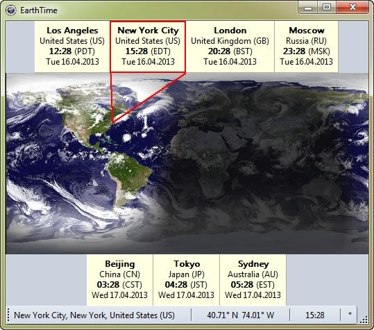 DeskSoft EarthTime 5.5.7