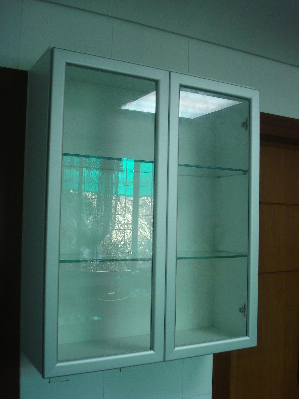 Lopes arm rios planejados arm rio de cozinha padr o branco porta curva puxadores em perfil - Perfiles de aluminio para armarios ...