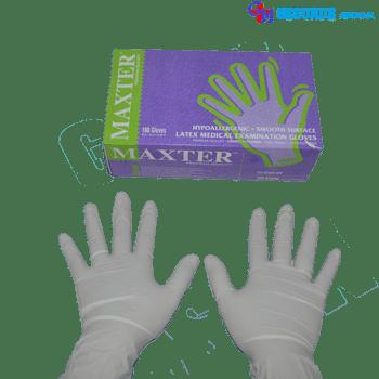 sarung tangan medis latex gloves