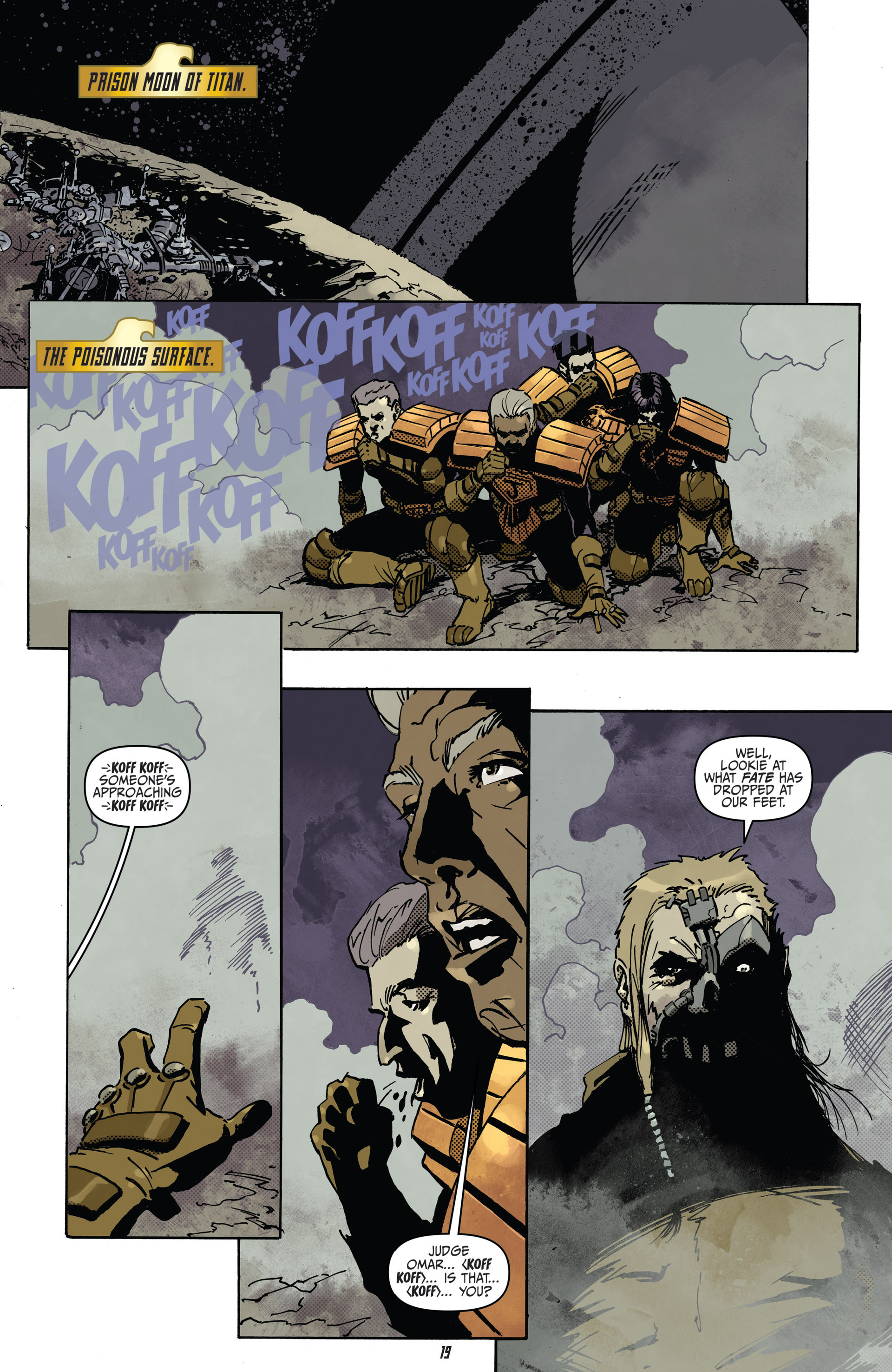Read online Judge Dredd (2012) comic -  Issue #22 - 21