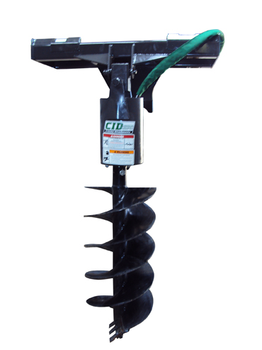 Skid Steer Auger Attachment6
