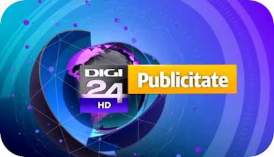 Primele reclame comerciale la Digi24