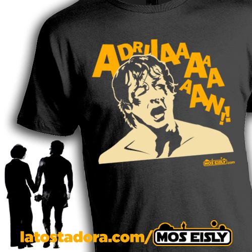 Camiseta de Rocky