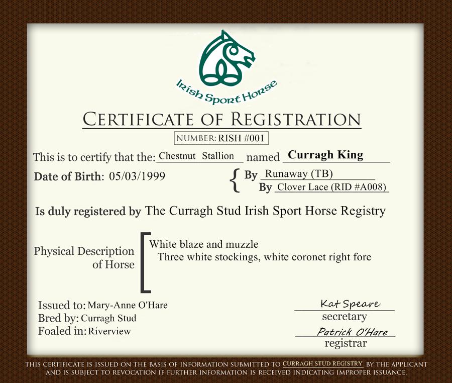 Dividend Certificate Template