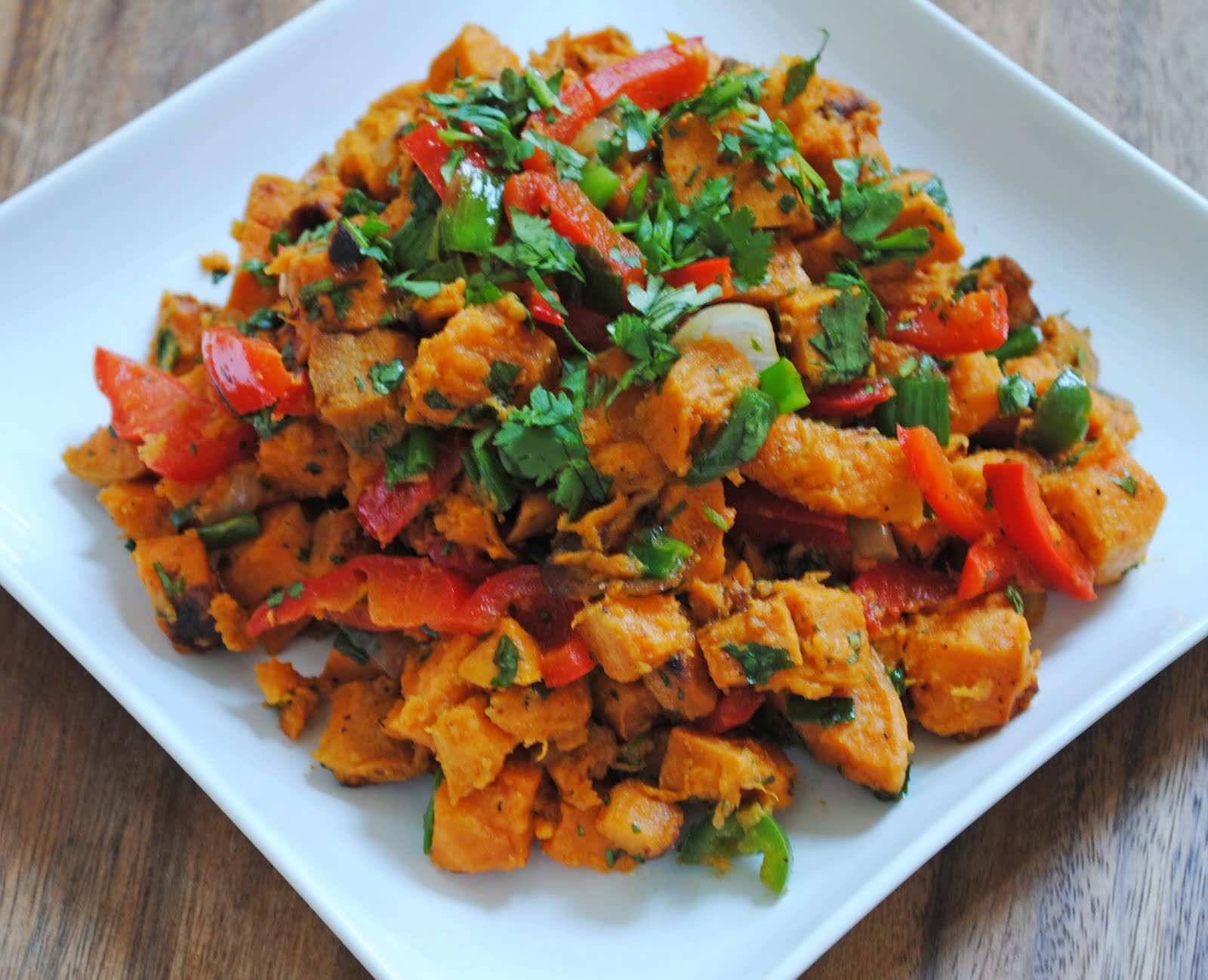 Roasted Sweet Potato Salad With Pecans And Green Onion Recipes ...