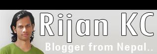 Rijan KC :: Blogger from Nepal