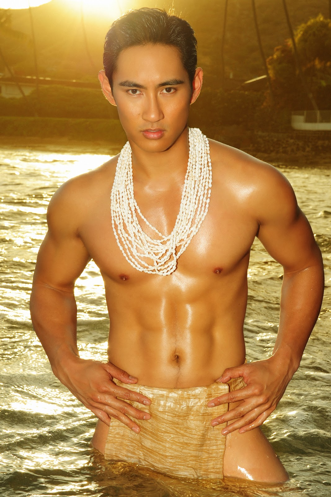 Mister Hawaii Universe Model 2012 Rhonee Rojas