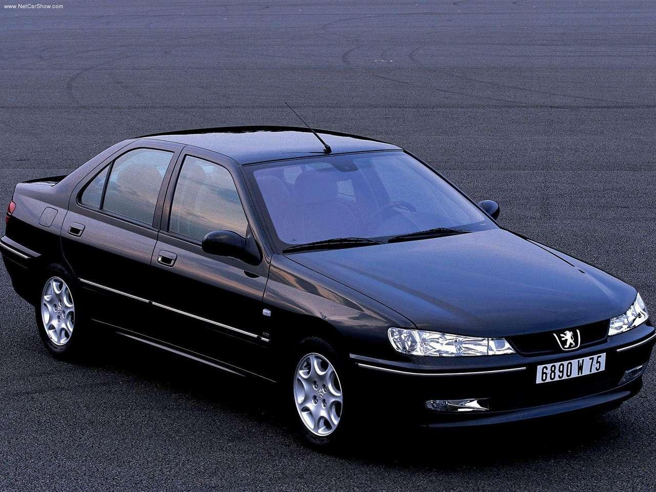 Peugeot - Poire français d'automobiles: 2001 Peugeot 406 Sedan