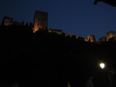 Al Hambra in Granada - Spain (night)