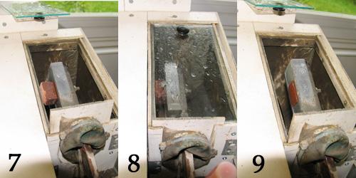 how to make glass air bubble block unicorn
