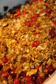 Savory Sweet and Satisfying: Tart and Tasty Stuffing