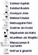 :: 10 Muwasofat Tarbiah::