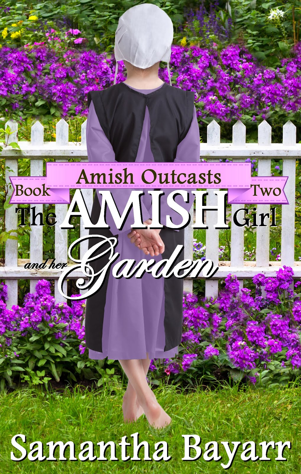 Amish Girl and her Garden