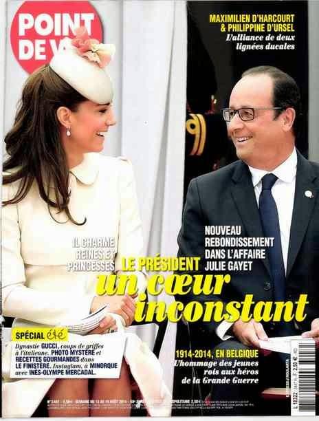 Kate duchesse de Cambridge-Hollande Belgique août 2014