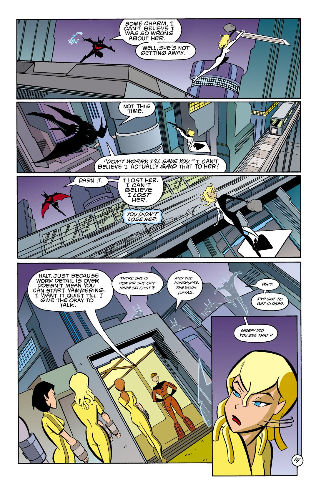 Batman Beyond [II] Issue #4 #4 - English 15