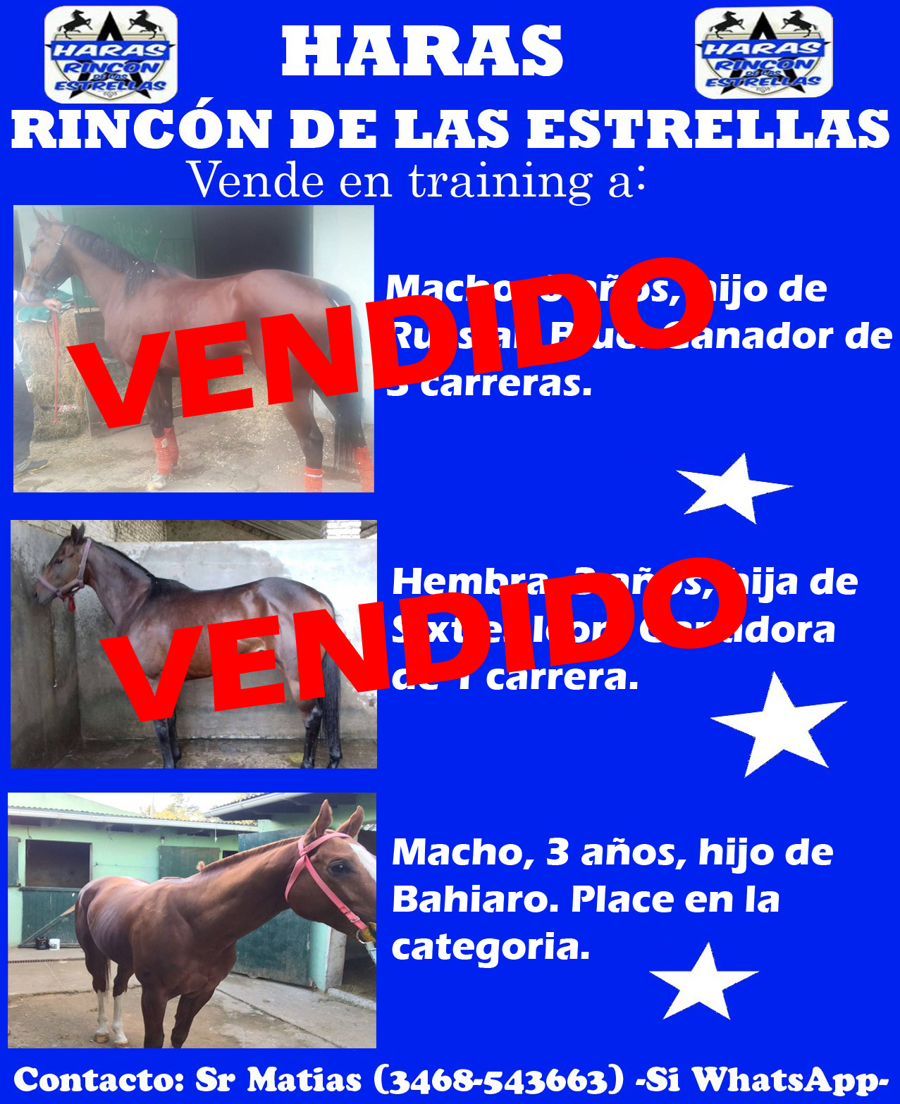 HS RINCON DE LAS ESTRELLAS