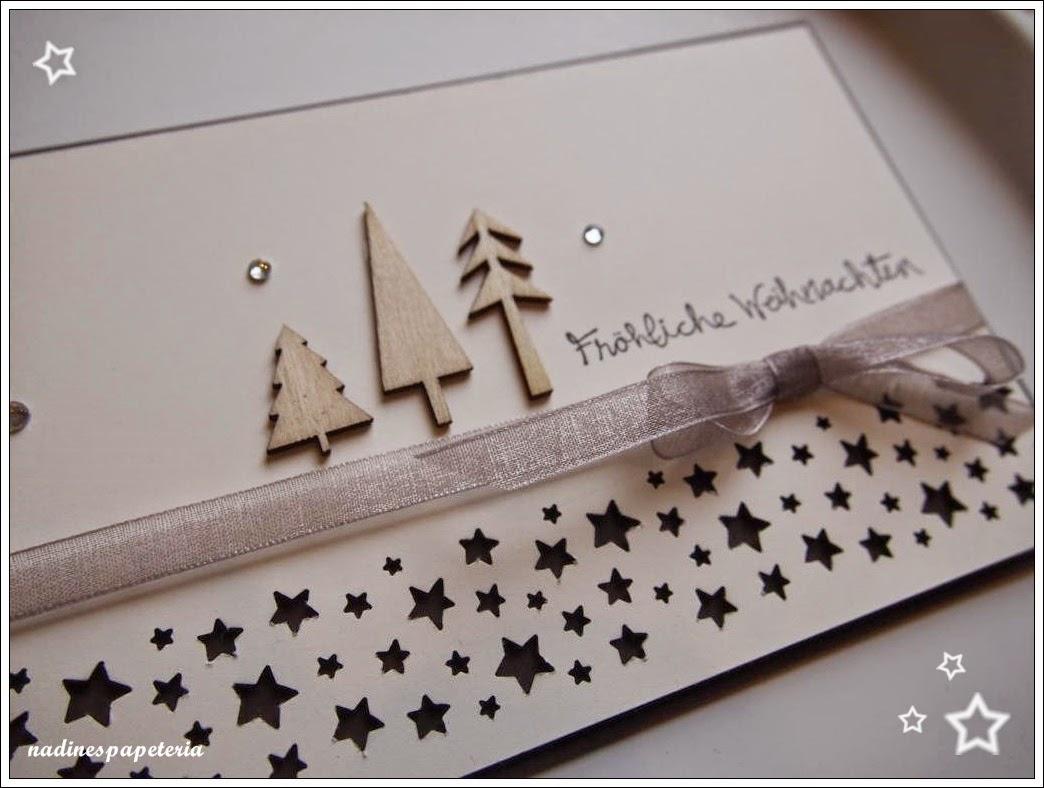 Nadines Papeteria: Gutschein als Weihnachtsgeschenk