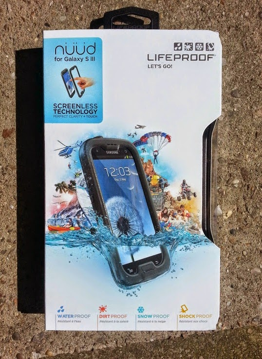 Lifeproof nuud phone case for Samsung Galaxy S3 review