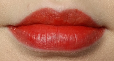 Avon Ultra Colour Lip Tint in Flamingo Lip Swatch