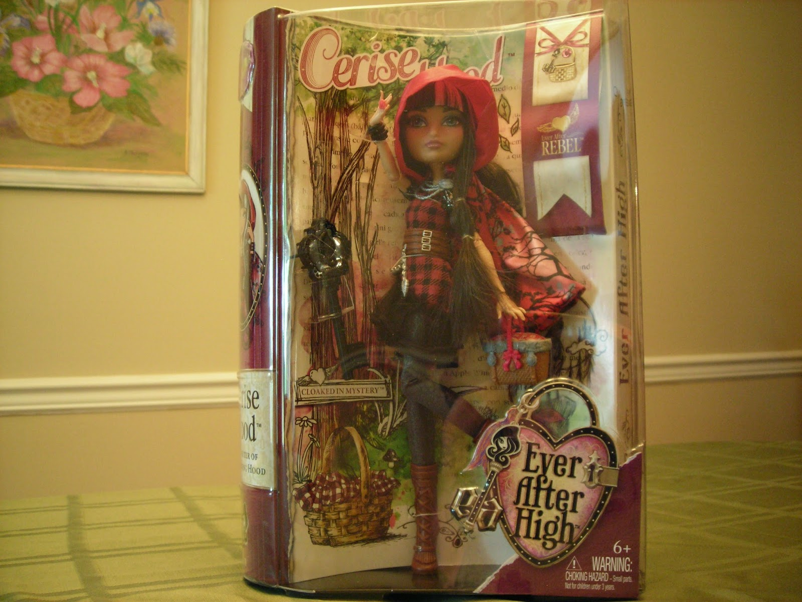 EVER AFTER HIGH CERISE HOOD WOLF DOLL REPLACEMENT NUDE TORSO BODY PART ONLY