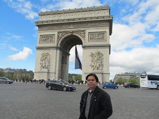 Paris France Arc de Triomphe
