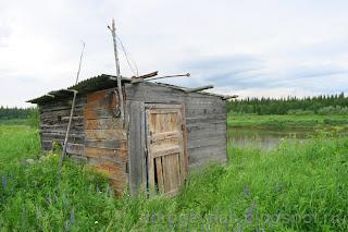 Выселок Вонда, река Шапкина