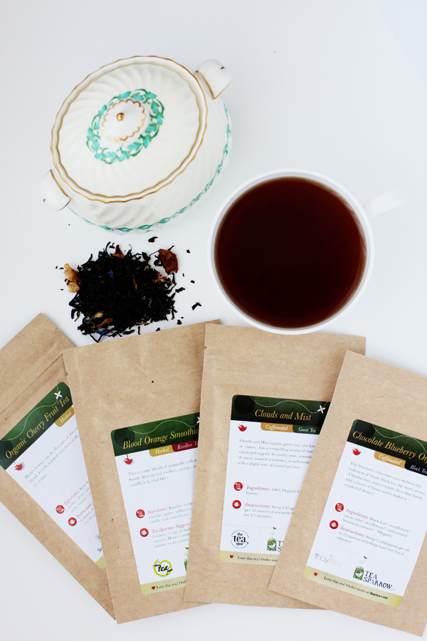 Chocolate Blueberry Organic Black Tea