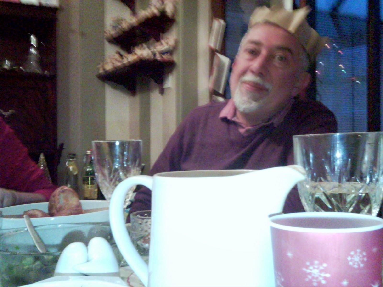 Grandad at dinner