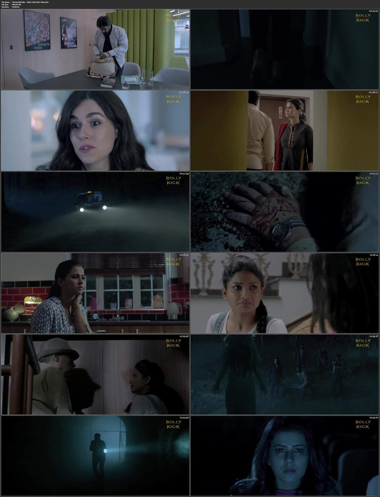Aake 2018 Hindi Dubbed Full Movie HDRip 720p