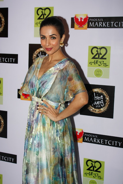 Malaika Arora Khan during the grand finale of Shine Young 2015 in Mumbai
