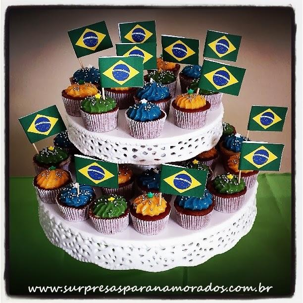 festinha em casa jogo do brasil