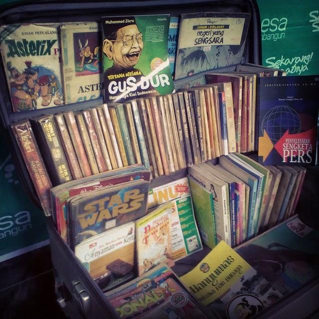 Membangun minat baca dengan Perpustakaan Koper