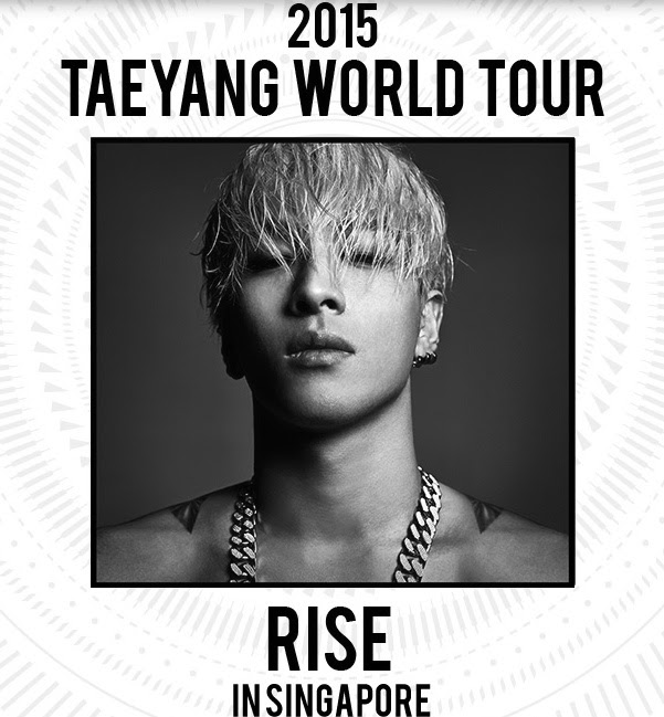 "Taeyang ""Rise"" Concert (Priority Tickets)"