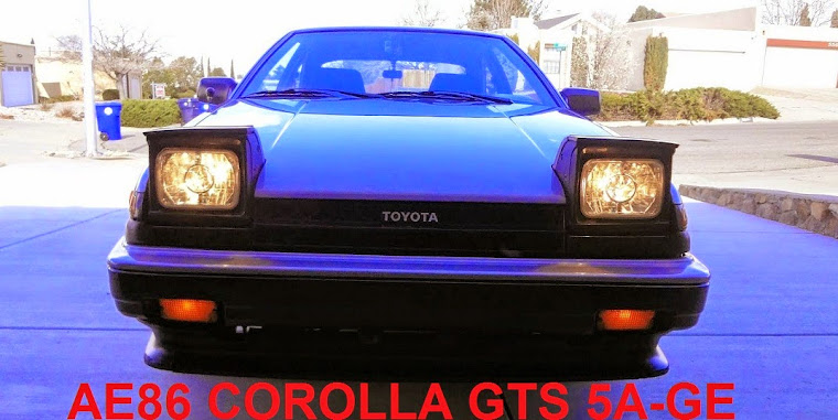 My 1985 Toyota Corolla GTS  AE86 Hatchback/Liftback  Turns 30!