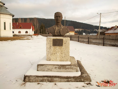 Bust O.C. Taslauanu la Bilbor