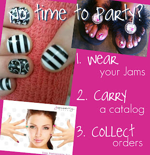 host a catalog party on your own time and still earn free and half-priced products from Jamberry nails
