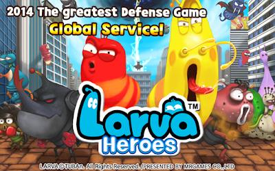 unduh Larva Games, Larva Heroes: Lavengers 2014 paling baru