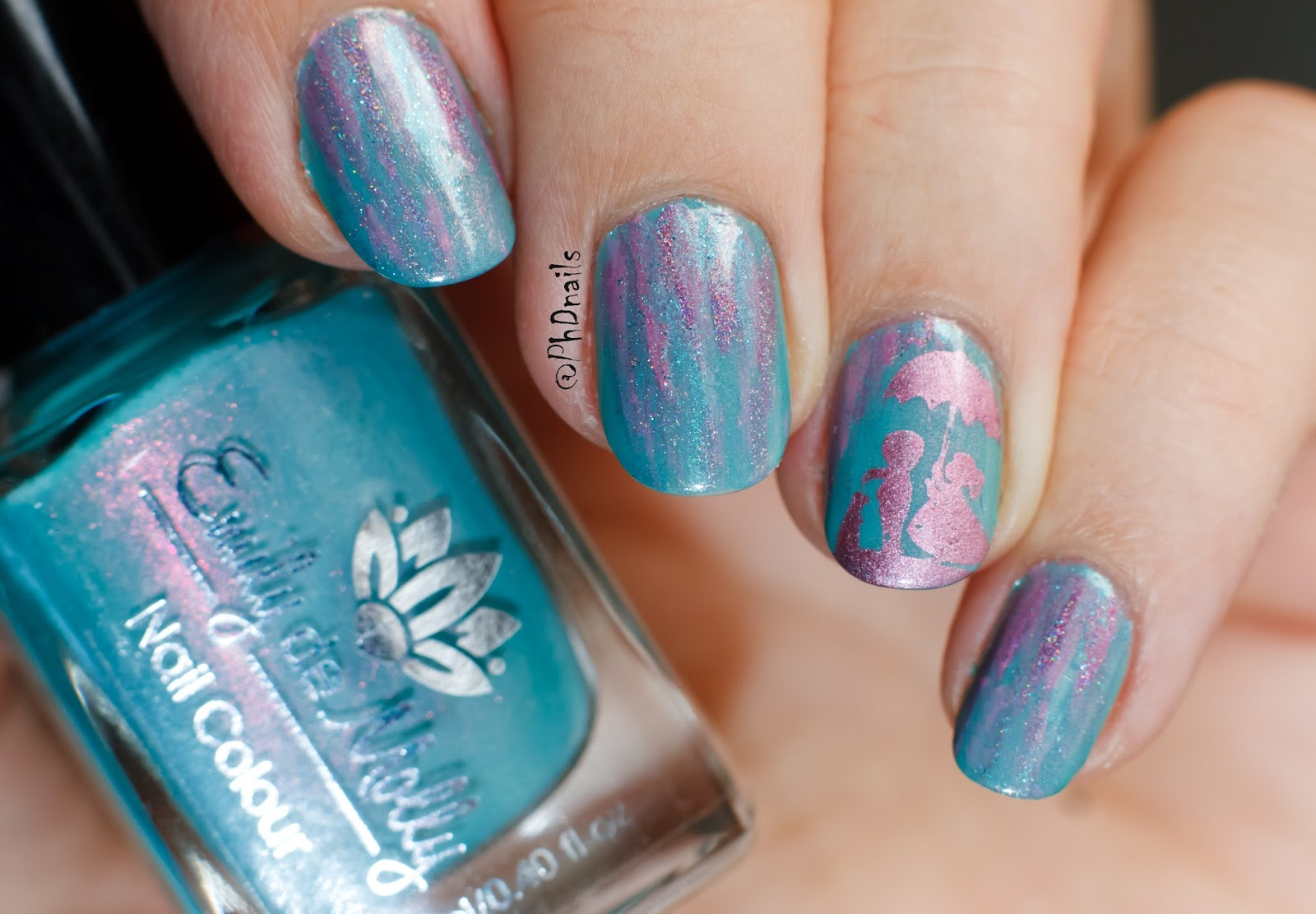 PhD nails: Born pretty stamping plate BP-71 review and coupon code.