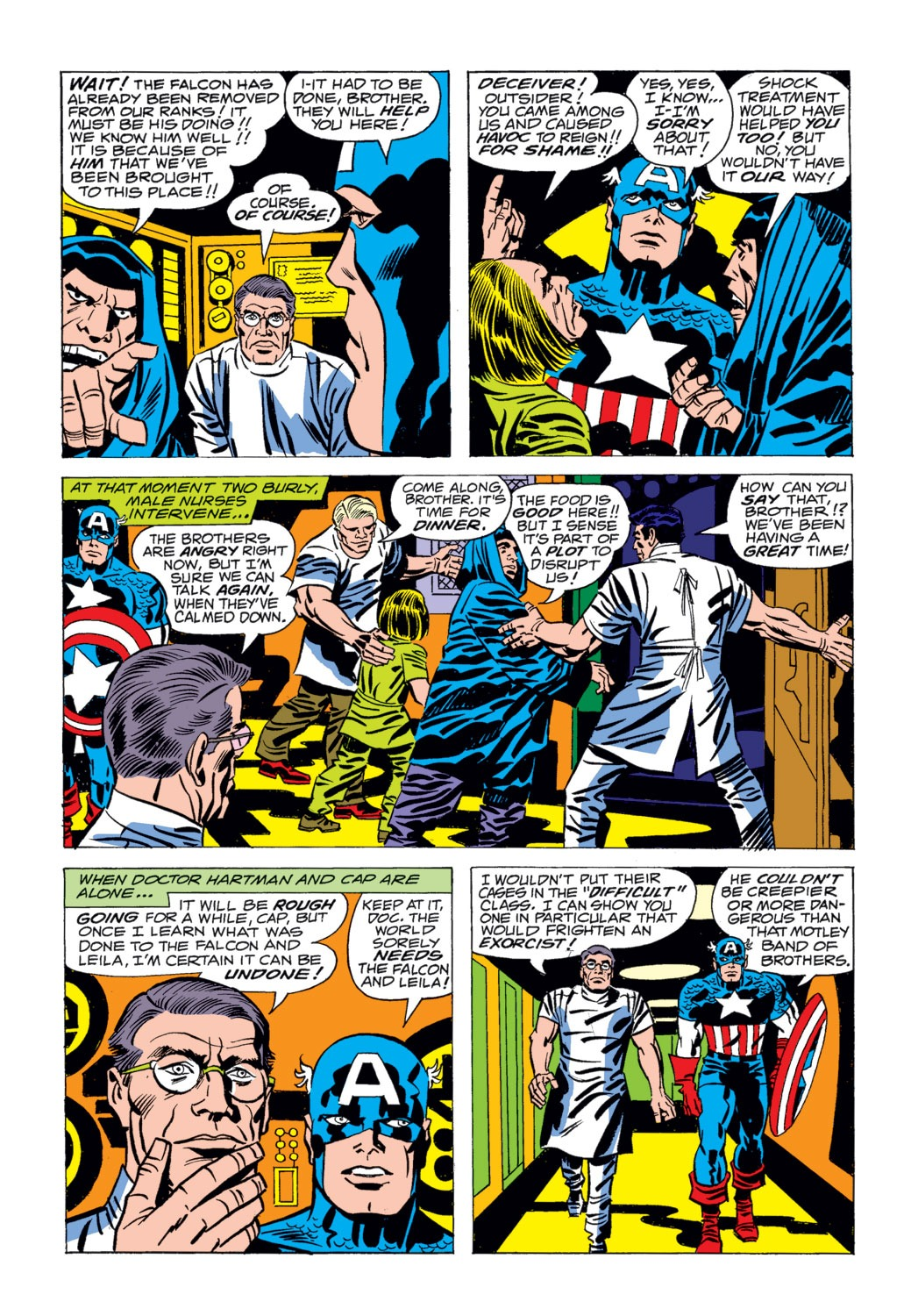 Captain America (1968) Issue #204 #118 - English 3