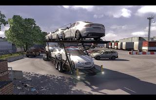 Scania truck driver simulator game Port