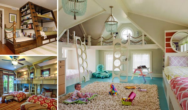 Architecture Design 21 Most Amazing Design Ideas For Four Kids Room