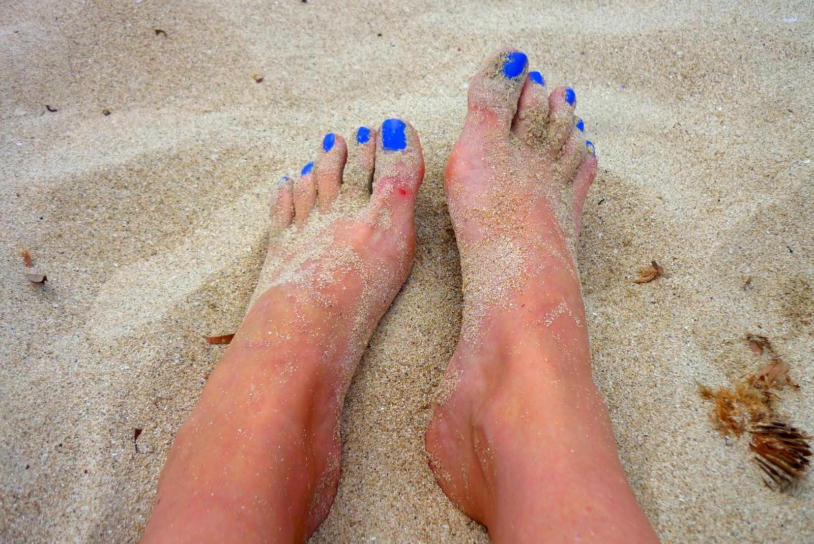 pintar uñas pies