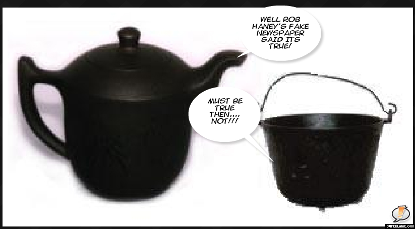 Pot Calling The Kettle Black ~ Politico mafioso april