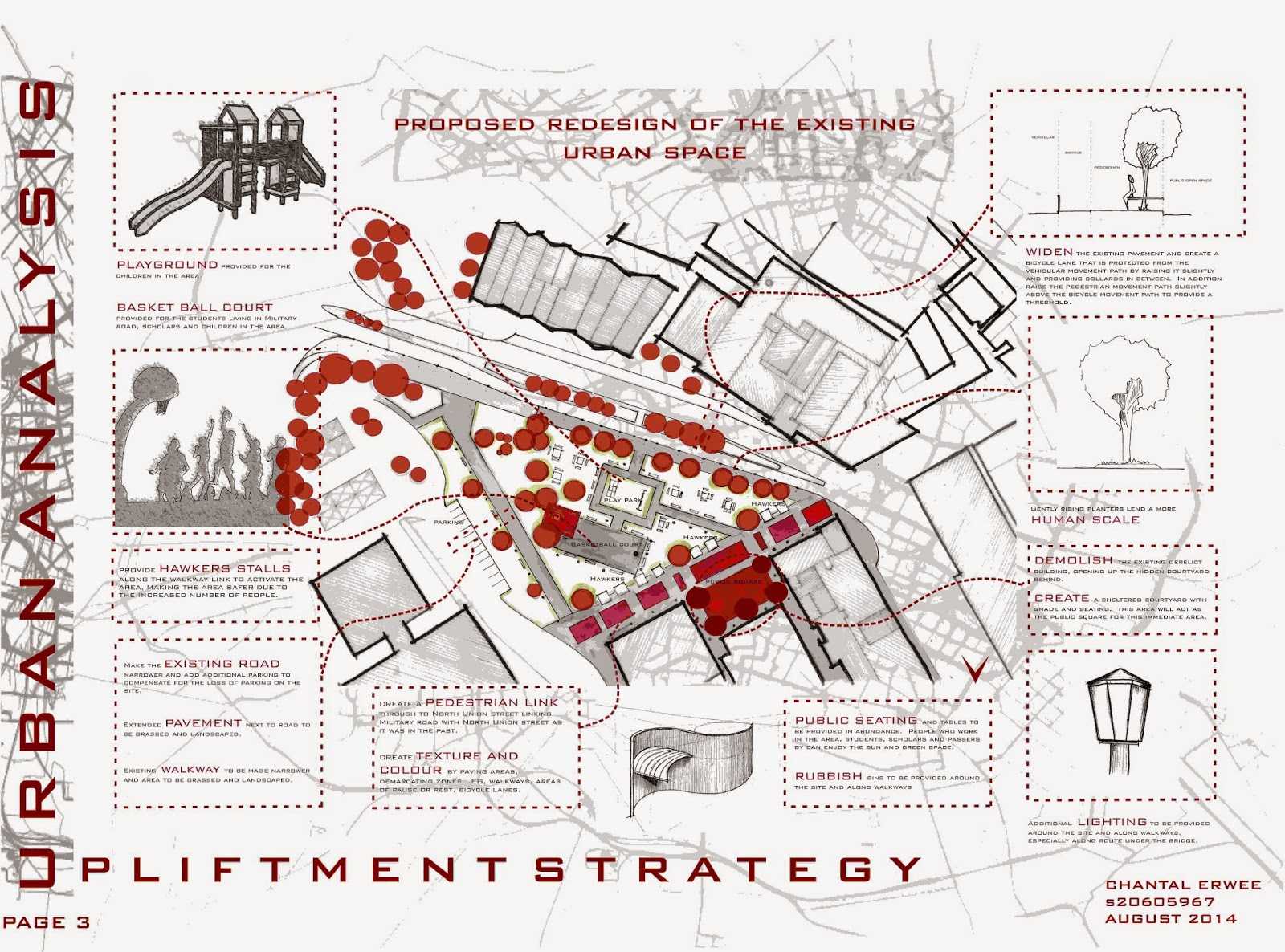 Urban Design Character Analysis : Architecture for all urban design hand in