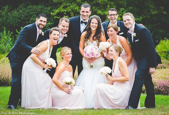 September classic wedding