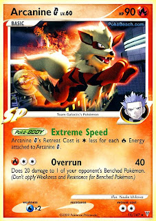 Arcanine G Pokemon Card Supreme Victors set