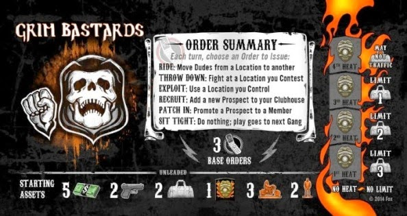 sons of anarchy men of mayhem board game news